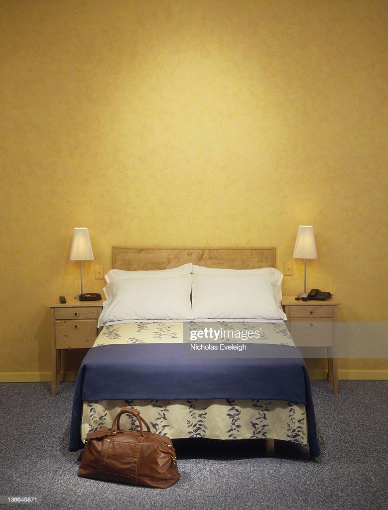 Created hotel bedroom