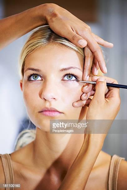 Creating a dramatic eye