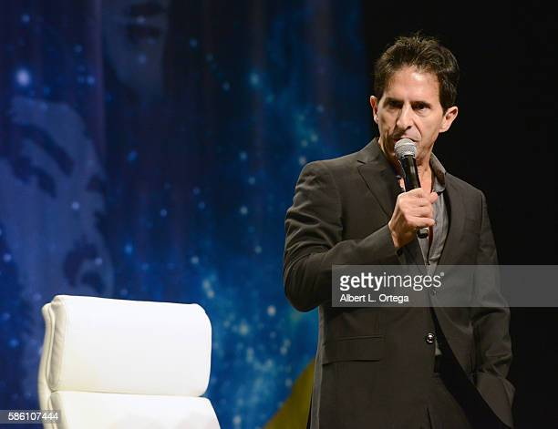 Creation's Adam Malin on day 2 of Creation Entertainment's Official Star Trek 50th Anniversary Convention at the Rio Hotel Casino on August 4 2016 in...