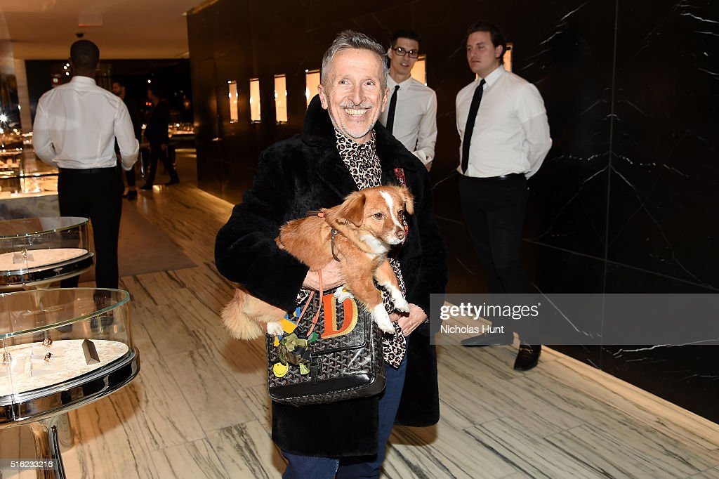 Creative Ambassador-at-Large Simon Doonan attends as Barneys New York celebrates its new downtown flagship in New York City on March 17, 2016 in New York City.