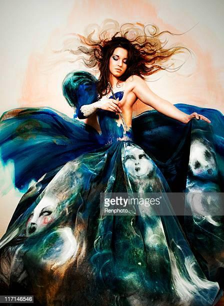 Arte creativo de moda