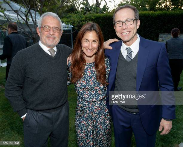 Creative Artists Agency President Richard Lovett Executive Director CISLA Deborah Marcus and Ron Meyer Vice Chairman Universal attend Communities In...