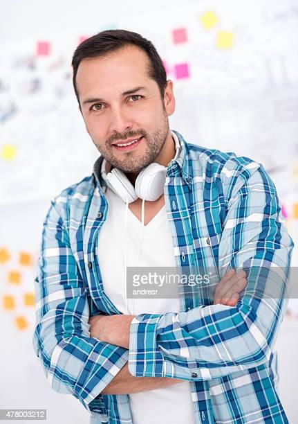 Kreative business Mann