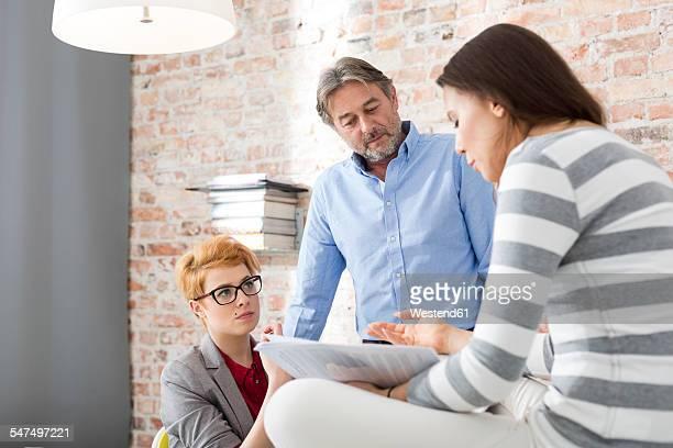 Creative business meeting in boardroom