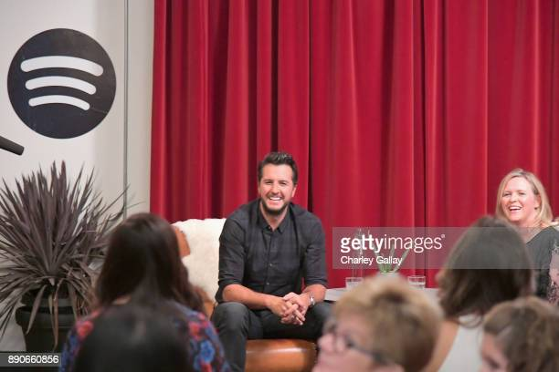 SVP Creative Content of the Academy of Country Music Lisa Lee hosted with Luke Bryan to celebrate his new album 'What Makes You Country' with his...