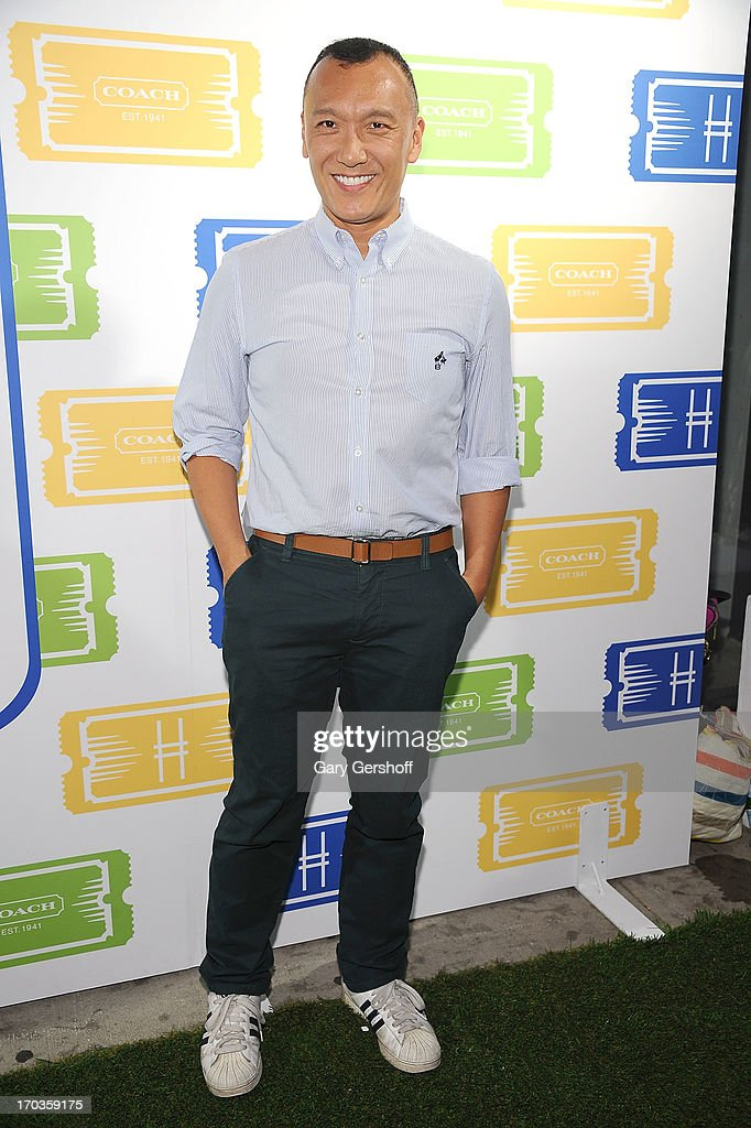 Creative director, Elle Magazine, <a gi-track='captionPersonalityLinkClicked' href=/galleries/search?phrase=Joe+Zee&family=editorial&specificpeople=2257766 ng-click='$event.stopPropagation()'>Joe Zee</a> attends the 3rd Annual Summer Party On The Highline on June 11, 2013 in New York City.