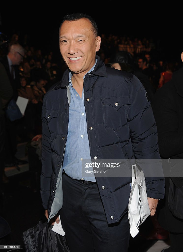 Creative Director, Elle magazine, Joe Zee attends the Carolina Herrera fashion show during Fall 2013 Mercedes-Benz Fashion Week at The Theatre at Lincoln Center on February 11, 2013 in New York City.