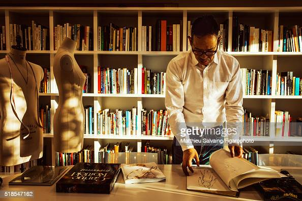 Creative director for Uniqlo Naoki Takizawa is photographed for Madame Figaro on January 13 2016 in Tokyo Japan CREDIT MUST READ Matthieu...
