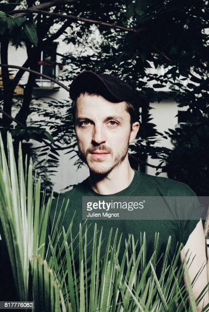 Creative Director Glenn Martens is photographed for Them Magazine on September 28 2016 in Paris France