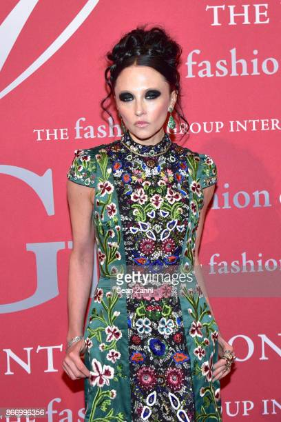 CEO Creative Director of Alice Olivia Stacey Bendet attends the Fashion Group International's 34th Annual Night of Stars Gala at Cipriani Wall Street...