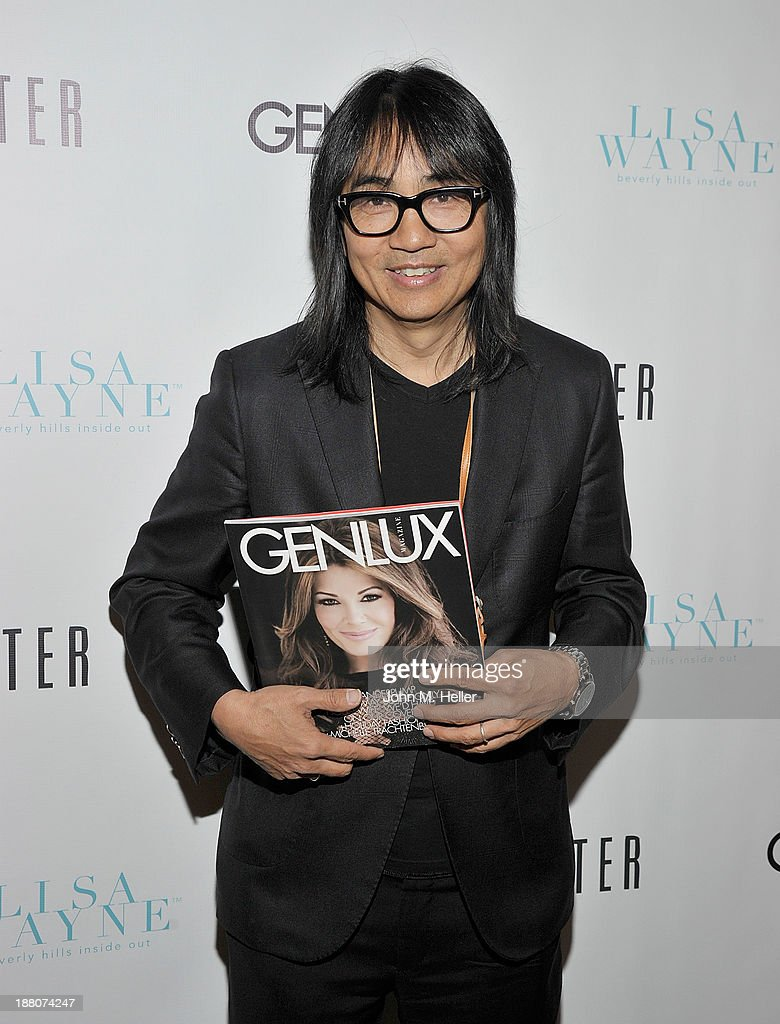 Creative Director of Genlux Magazine Stephen Kamifuji attends the GENLUX magazine Launch Event Party at The Beverly Center on November 14, 2013 in Los Angeles, California.