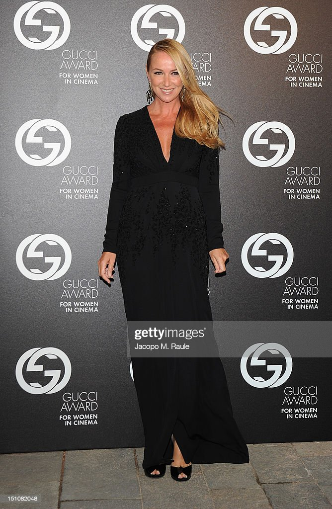 Creative Director of Gucci Frida Giannini attends the Gucci Award for Women in Cinema at The 69th Venice International Film Festival at Hotel Cipriani on August 31, 2012 in Venice, Italy.