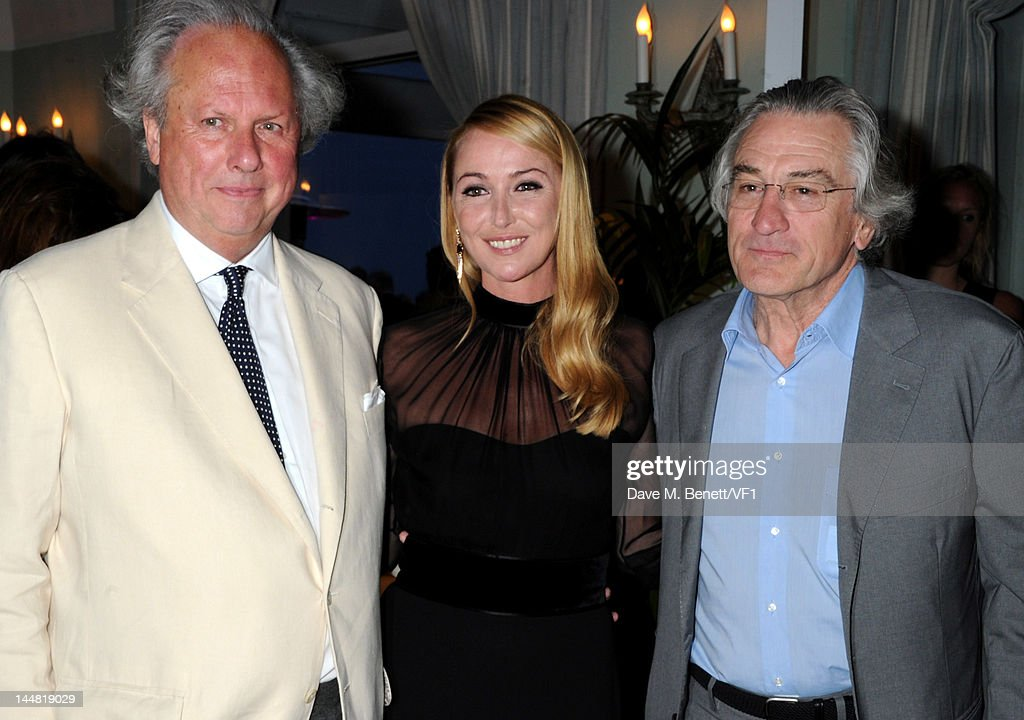Creative director of Gucci Frida Giannini, Editor of Vanity Fair Graydon Carter and actor Robert De Niro attend the Vanity Fair And Gucci Party during the 65th Annual Cannes Film Festival at Hotel Du Cap on May 19, 2012 in Antibes, France.