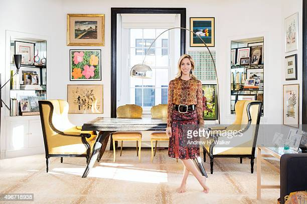 Creative director of Hanley NYC Nicole Hanley Mellon poses for Resident Magazine on February 06 2015 in New York City COVER IMAGE