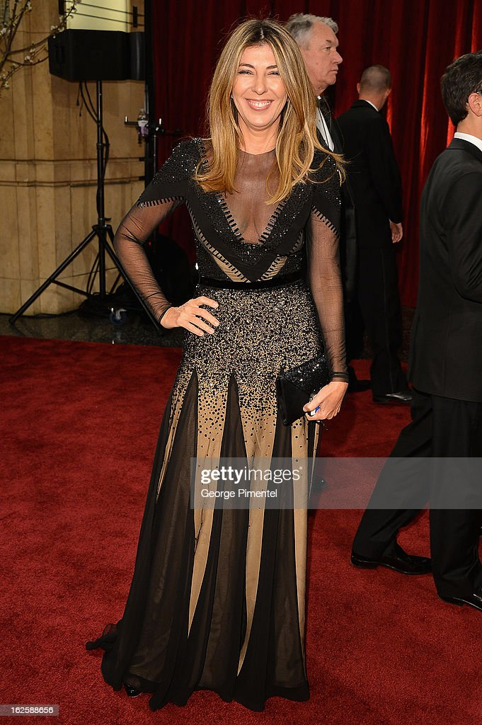 Creative Director of Marie Claire Magazine Nina Garcia arrives at the Oscars at Hollywood & Highland Center on February 24, 2013 in Hollywood, California.