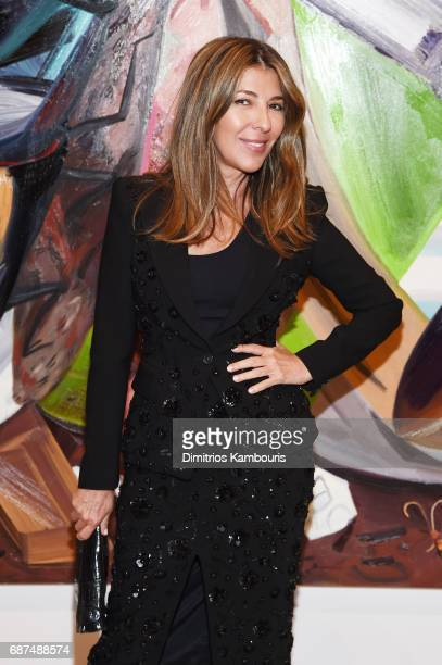 Creative Director of Marie Claire Nina Garcia attends the Whitney Museum's annual Spring Gala and Studio Party 2017 sponsored by Audi and Michael...