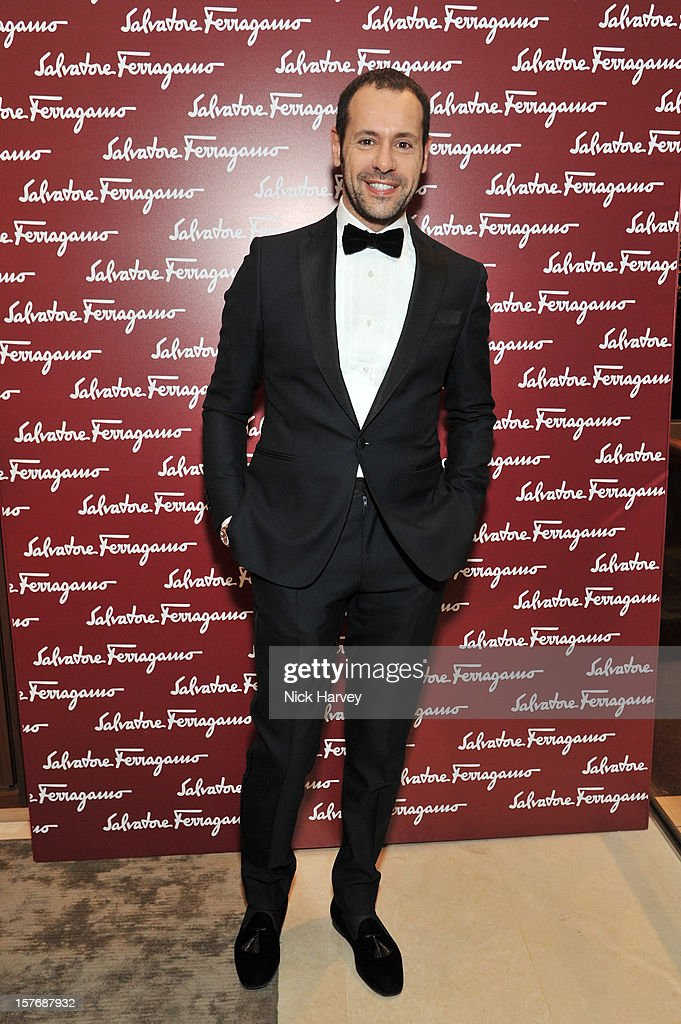 Creative Director of Salvatore Ferragamo, Massimiliano Giornetti attends the flagship store launch of Salvatore Ferragamo's Old Bond Street Boutique at 24 Old Bond Street on December 5, 2012 in London, England.