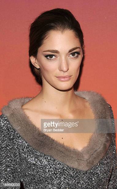 Creative director Sofia Sanchez Barrenechea arrives for the Whitney Museum of American Art Gala Studio Party 2013 Supported By Louis Vuitton at...