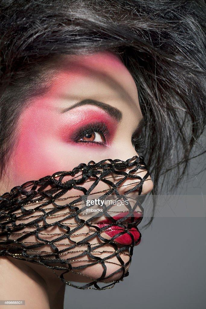 Creative Extreme Female Beauty Gauze Scarf