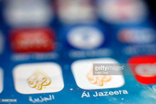 'Al Jazeera' iPhone mobile app icon