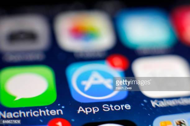 App StoreIcon auf einem auf einem iPhone