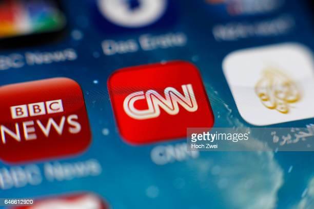 CNNIcon auf einem auf einem iPhone