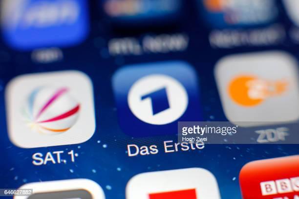 'Das Erste'Icon auf einem auf einem iPhone