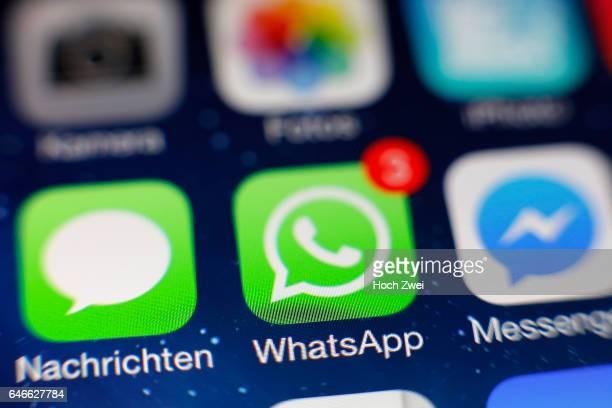 WhatsApp iPhone mobile app icon