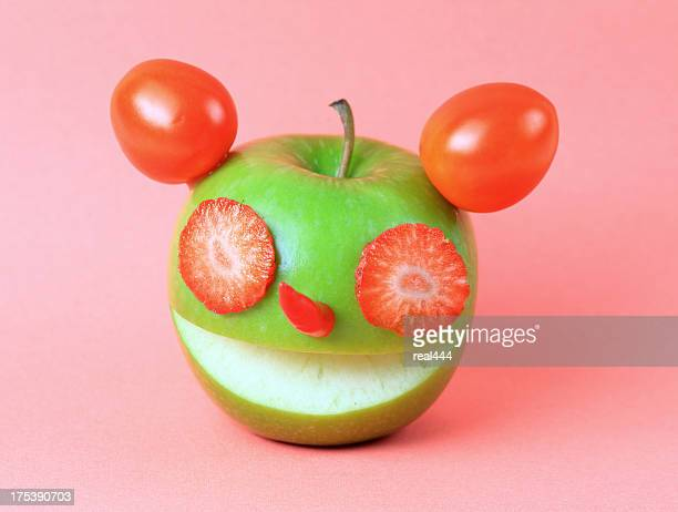 Creative fruits and vegetables
