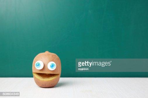 Creative frutos e produtos hortícolas : Foto de stock