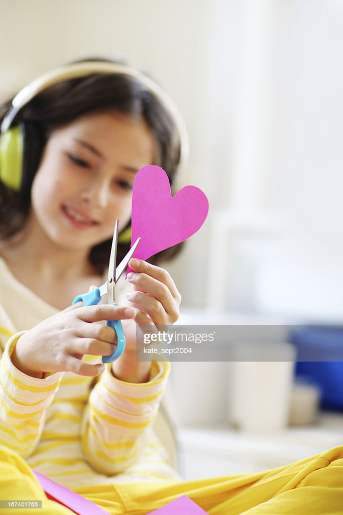 Creative girl : Stock Photo
