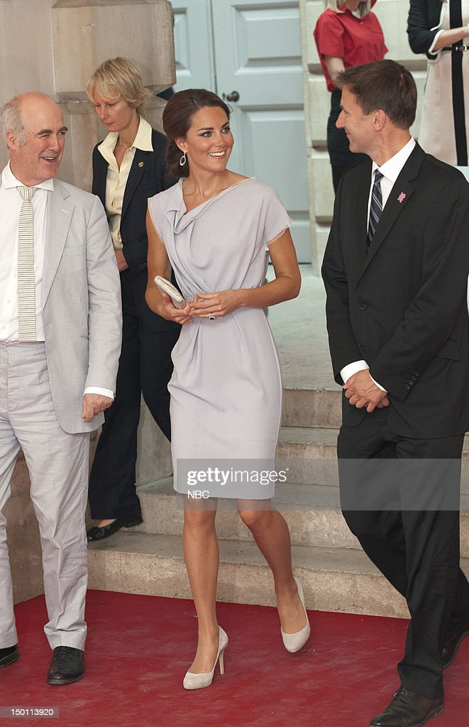 Creative Industries Reception -- Pictured: (center) Kate Middleton --
