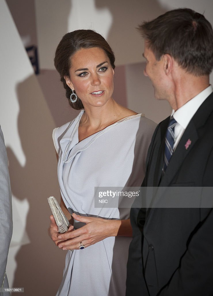Creative Industries Reception -- Pictured: (left) Kate Middleton --