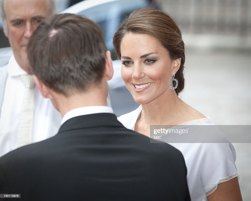 Creative Industries Reception -- Pictured: (right) Kate Middleton --