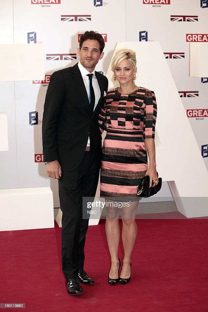 Creative Industries Reception -- Pictured: (l-r) Max Rogers, Kimberly Wyatt --