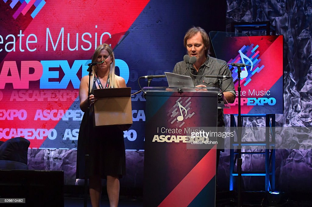 VP, Creative, Marketing & Communications Erik Philbrook speaks onstage at the 2016 ASCAP 'I Create Music' EXPO on April 30, 2016 in Los Angeles, California.