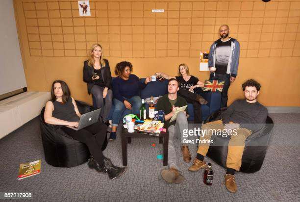 Creative team from Full Frontal photographed for Emmy Magazine on March 2 in New York City