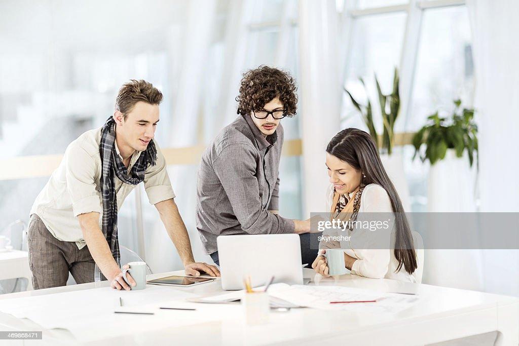 Creative team. : Stock Photo