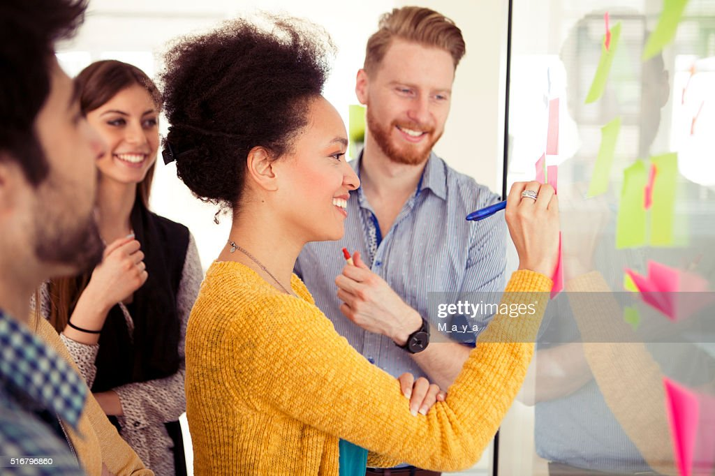 Creative young people : Stock Photo