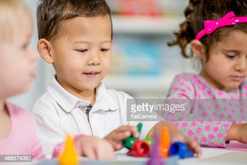 Creativity in Child Art Class