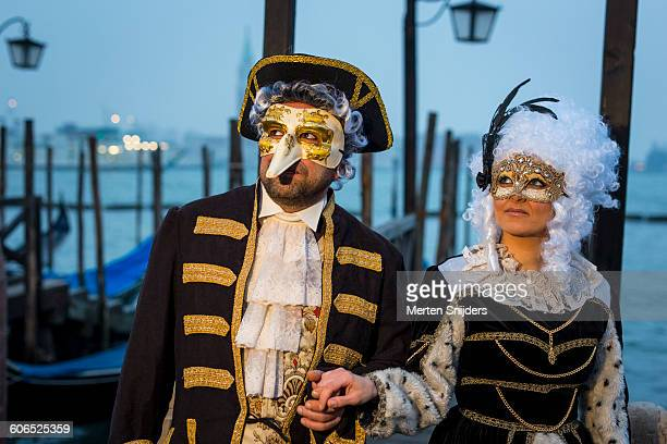Creativity in Venice Carnival costumes and acts