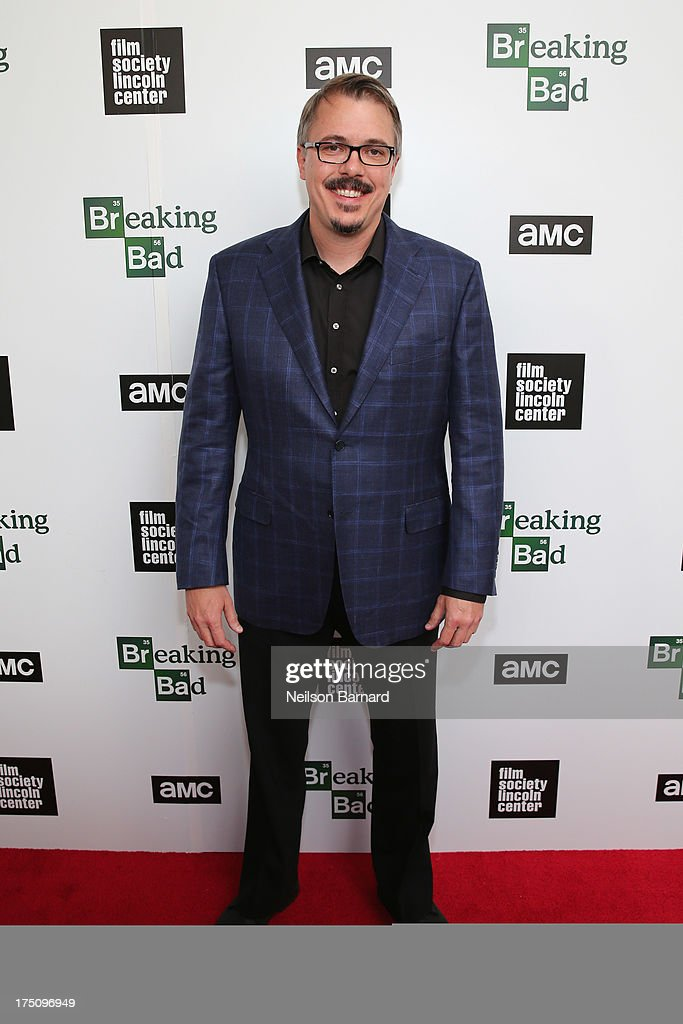 Creator and Executive Producer c attends The Film Society of Lincoln Center and AMC Celebration of 'Breaking Bad' Final Episodes at The Film Society of Lincoln Center, Walter Reade Theatre on July 31, 2013 in New York City.