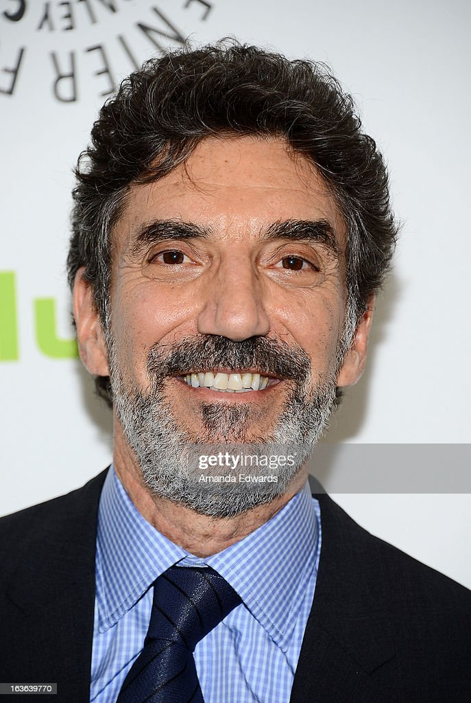 Creator and executive producer Chuck Lorre arrives at the 30th Annual PaleyFest: The William S. Paley Television Festival featuring 'The Big Bang Theory' at the Saban Theatre on March 13, 2013 in Beverly Hills, California.