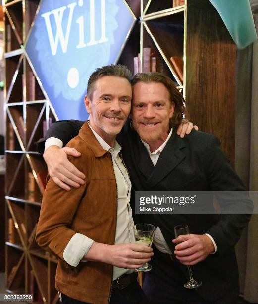 Creator and Executive Producer Craig Pearce and actor William Houston attend TNT's Season One 'Will' Premiere After Party at Bryant Park on June 27...