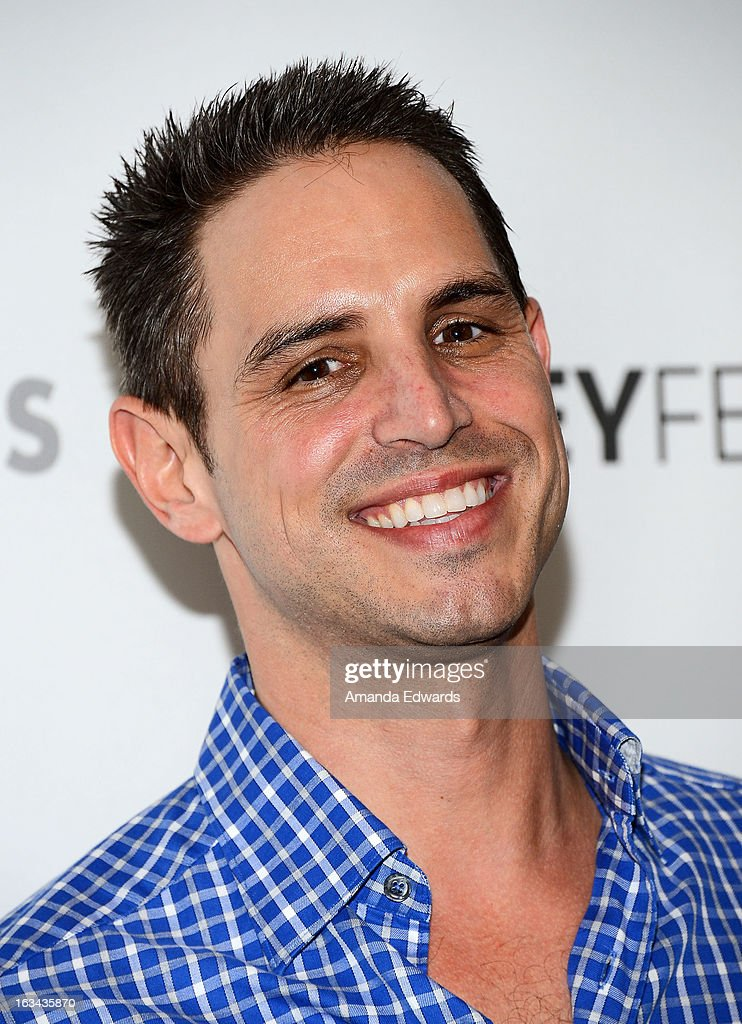Creator and executive producer <a gi-track='captionPersonalityLinkClicked' href=/galleries/search?phrase=Greg+Berlanti&family=editorial&specificpeople=2985318 ng-click='$event.stopPropagation()'>Greg Berlanti</a> arrives at the 30th Annual PaleyFest: The William S. Paley Television Festival featuring 'Arrow' at the Saban Theatre on March 9, 2013 in Beverly Hills, California.