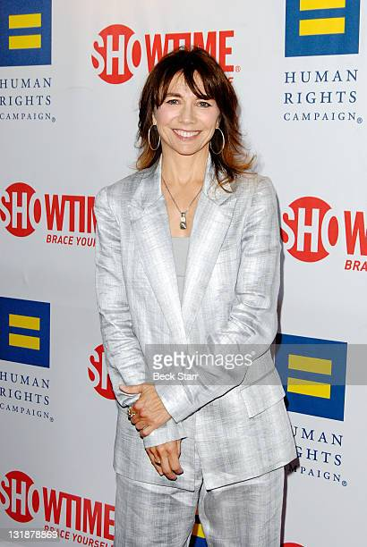 Creator and executive producer Ilene Chaiken arrives to Showtime And The Human Rights Campaign Premiere Of 'The Real L Word' Season 2 at East West...