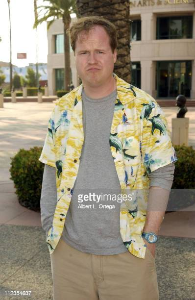 Creator and executive producer Joss Whedon during ATAS Presents Behind the Scenes of 'Buffy the Vampire Slayer' at ATAS Leonard Goldenson Theater in...