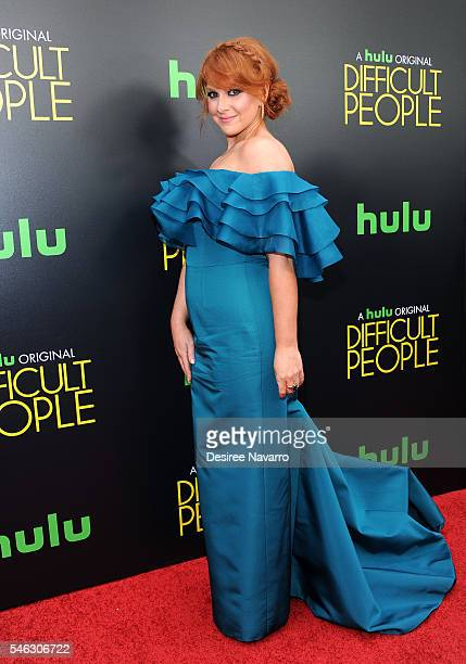 Creator and executive producer Julie Klausner attends 'Difficult People' New York Premiere at The Metrograph on July 11 2016 in New York City