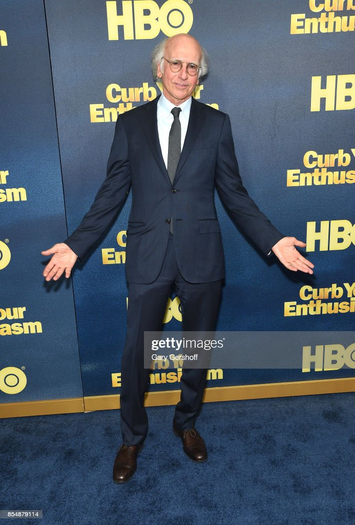 Creator and executive producer Larry David attends 'Curb Your Enthusiasm' season 9 premiere at SVA Theater on September 27, 2017 in New York City.
