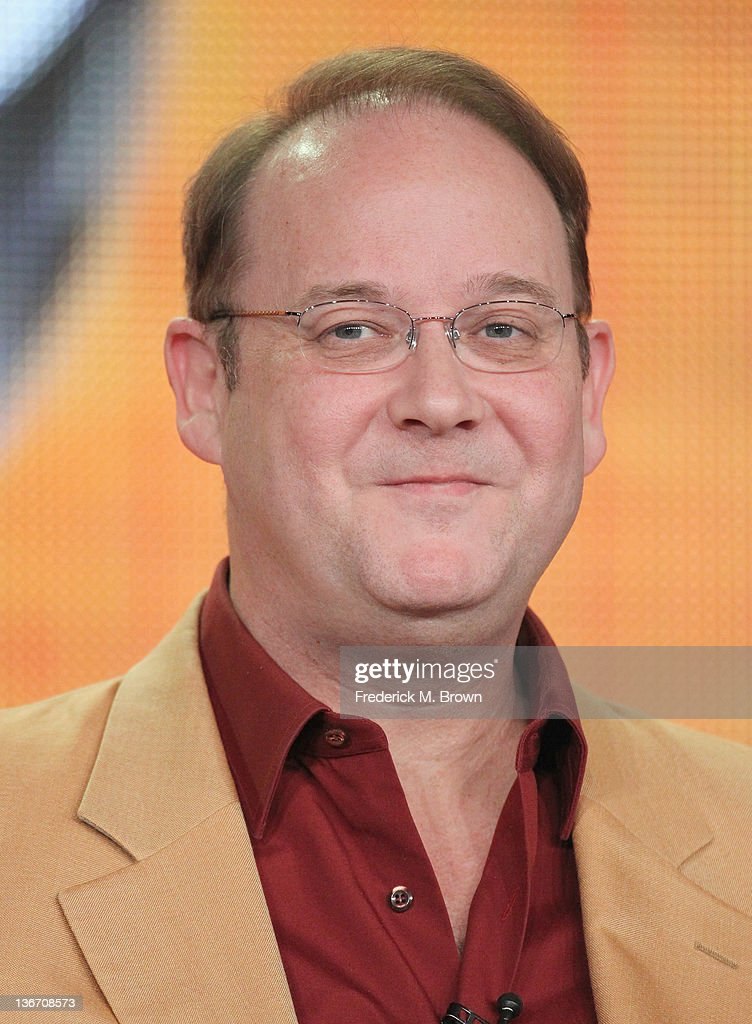 Creator and Executive Producer <a gi-track='captionPersonalityLinkClicked' href=/galleries/search?phrase=Marc+Cherry&family=editorial&specificpeople=217819 ng-click='$event.stopPropagation()'>Marc Cherry</a> speaks during the 'Desperate Housewives' panel during the ABC portion of the 2012 Winter TCA Tour held at The Langham Huntington Hotel and Spa on January 10, 2012 in Pasadena, California.